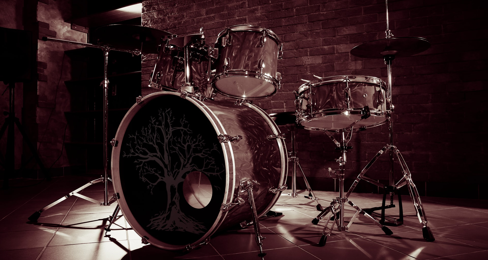 CUSTOM DRUM DECALS